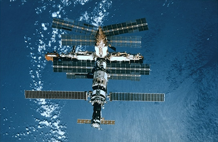 Mir space station node full image